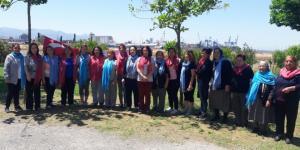 İzmir'deki Körücekliler Anneler Günü'nde Buluştu