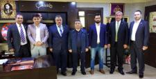AK Parti Ahilik Esnaf Komisyonu Gür'ü Kutladı