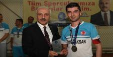 Osman Topuz Gol Kralı Oldu
