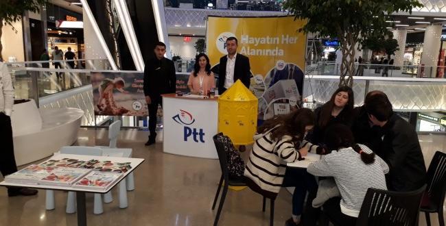 PTT'den Annelere Özel Mektup Standı