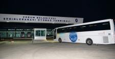 Otobüs Firmaları İle Toplantı Yapıldı