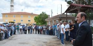 Başkan Eyvaz Personelle Bayramlaştı