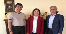Milletvekili Ceritoğlu, Behiç Akkaş'ı Ziyaret Etti