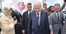 Devlet Bahçeli Sungurlu'da Karşılandı