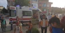 Yangından Vatandaşları İtfaiye Kurtardı