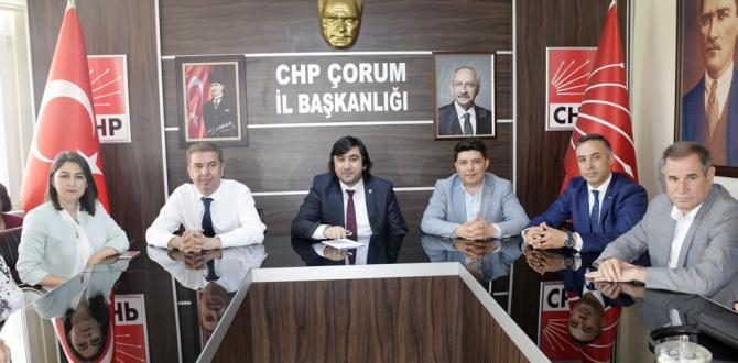 Millet İttifakı CHP'de Bayramlaştı