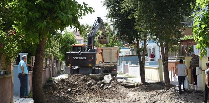 Beytepe 2.Cadde Yenileniyor