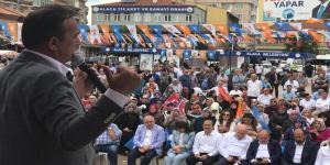 Alaca'dan, Erdoğan'a Tam Destek