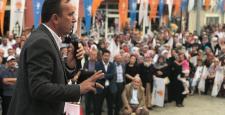 İskilip, AK Partilileri Bağrına Bastı