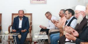 Kavuncu'dan Balkanlıoğlu İçin Taziye Ziyareti
