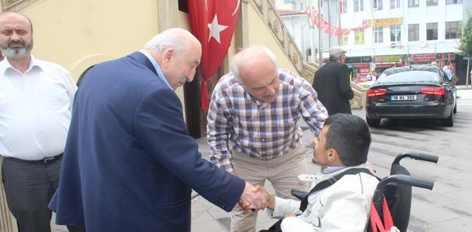 Kavuştu'dan Belediyeye Ziyaret