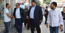 Kafkas ve Bağcı'dan Osmancık'ta Esnaf Ziyareti