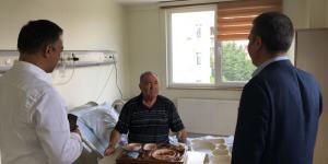 CHP'liler Elitpark'ta Hastaları Ziyaret Etti