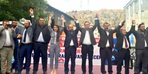 İskilip'te AK Parti Coşkusu