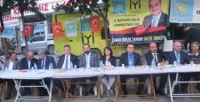 İYİ Parti, Osmancık'ta Meydana Sığmadı