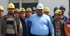 Kaya, Maden İşçileriyle Buluştu