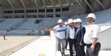 Yeni Stadyum İnşaatını İncelediler