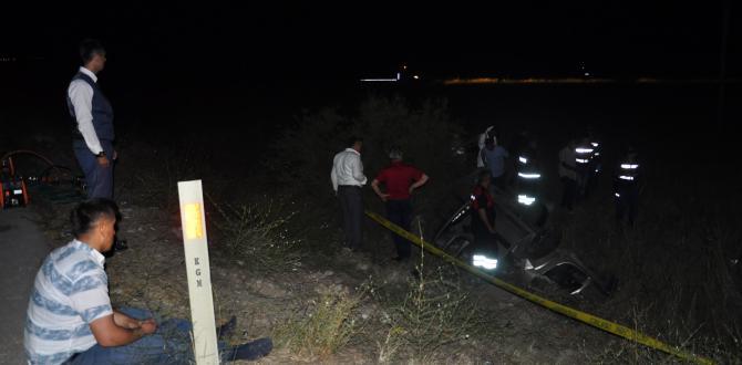 Mecitözü'nde Trafik Kazası; 1 Ölü, 3 Yaralı