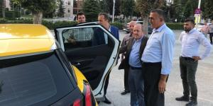 Taksici Esnafından Ceylan ve Karadağ'a Teşekkür
