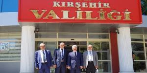 Başkan Karataş'tan Osmancıklı Valiye Ziyaret