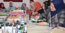 Mülteci Kadınlar Meslek Öğreniyor