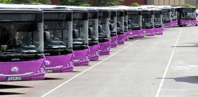 """""""Yeni Otobüslerimiz Hayırlı Olsun"""""""