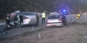İki Otomobil Kavşakta Çarpıştı: 5 Yaralı