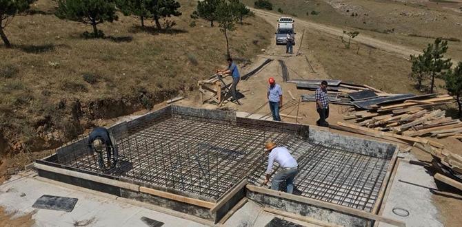 Köylere İçme Suyu Tesisi Yapılıyor