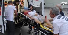 Bisikletli Küçük Çocuk Ağır Yaralandı