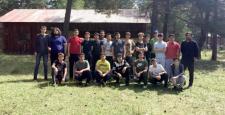 Lisesi Gençler Kampta Buluştu