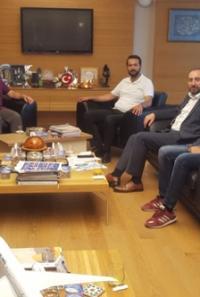NFK Öğrencilerinden Rektör Alkan'a Ziyaret