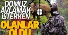 Domuz Avlarken Av Tüfeğini Kaybetti
