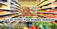 Yurt İçi Üretici Fiyat Endeksi Arttı