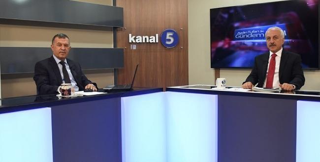 Başkan Gül, Kanal 5'e Konuk Oldu