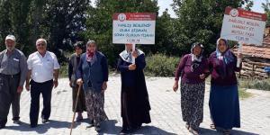 Köyün Kadınları Sağlıklı Yaşam İçin Yürüdü
