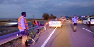 Çorum'da Otomobiller Çarpıştı: 2 Yaralı