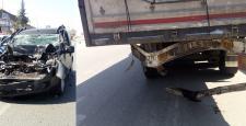 Sungurlu'da Trafik Kazası : 1 Yaralı