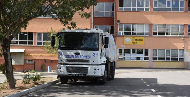 Okulların Çevre Temizliği Belediye'den
