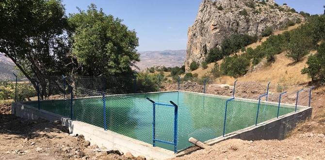Şanlıosman Köyü'ne Sulama Havuzu