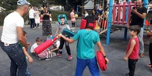 Çocuklar ve Aileleri Birlikte Eğlendi