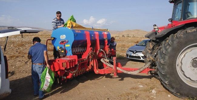 Ekosistem Tarımsal Uygulamalar Sungurlu'da Yapıldı