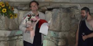 Arıkoğlu'na,  Efes Tiyatro Festivali'nden Ödül