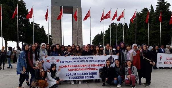 Öğrenciler Çanakkale ve Bursa'yı Gezdi