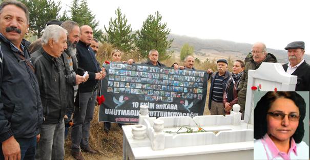 Emine Ercan, Mezarı Başında Anıldı