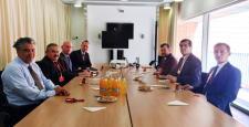 Çorumlulardan Hollanda Büyükelçiliği'ne Ziyaret