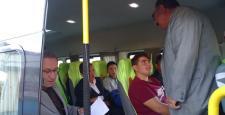 İskilip'te Taşımalı Servisler Denetlendi