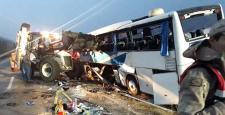 Otobüs Kazasında 2 Çorumlu Hayatını Kaybetti