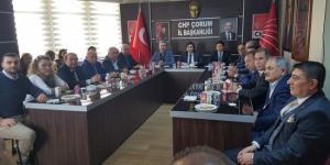CHP, Yerel Seçimler İçin Toplandı