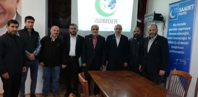 İSOMDER Çankırı'da Toplandı