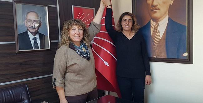 CHP Kadın Kolarında Görev Değişimi